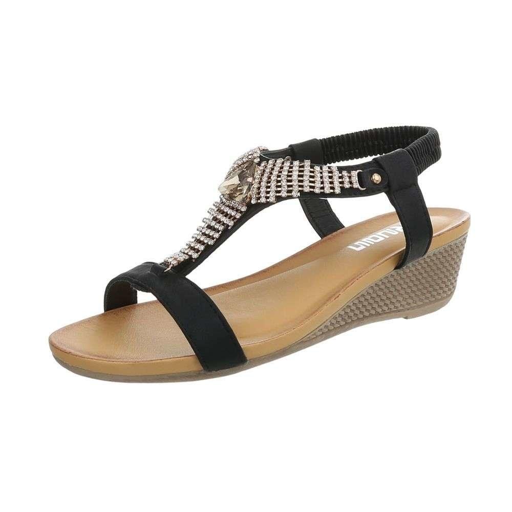 Dámske sandály čierne - 39 EU shd-osa1166bl