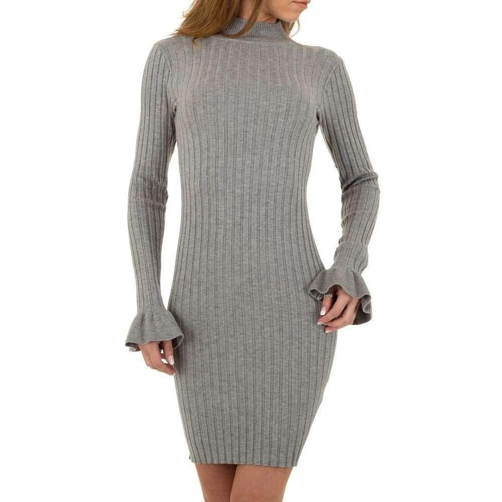 Mini šaty z úpletu EU shd-sat1127gr