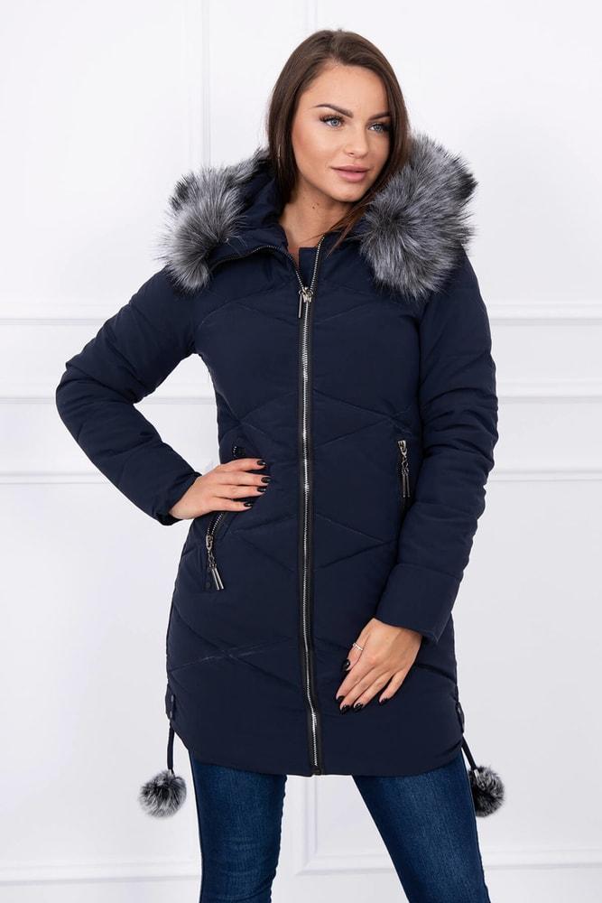 Dámska bunda s kapucňou Kesi ks-bu8005tm