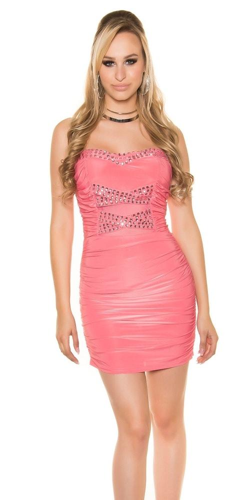 Spoločenské dámske mini šaty Koucla in-sat1346ko