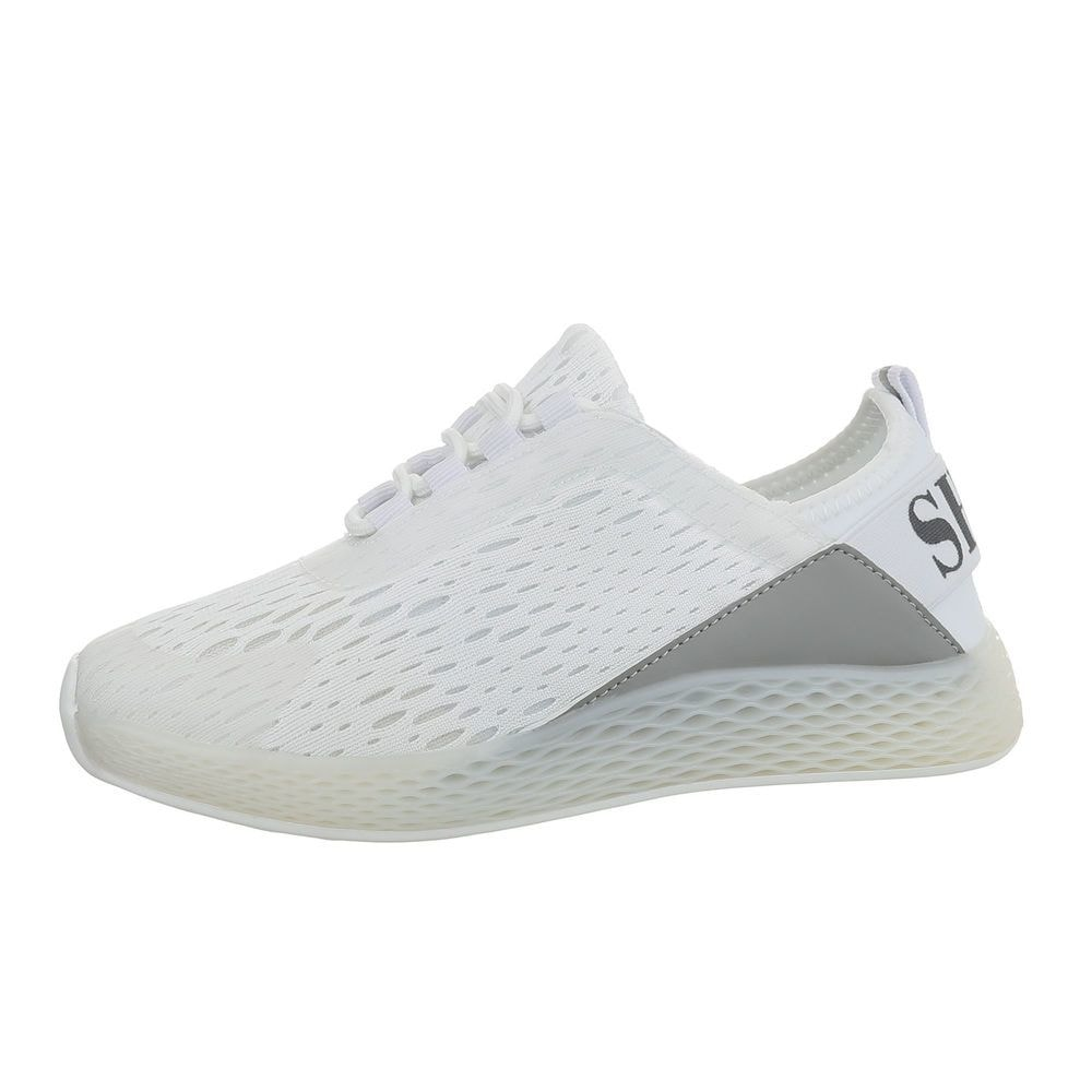 Dámské bílé tenisky - bazar EU shd-osn1239wh-v