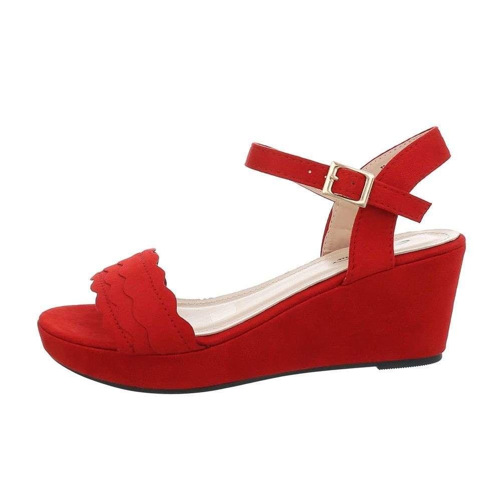 Červené sandále - 39 EU shd-osa1397re