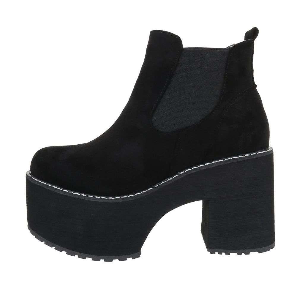 Kotníková obuv na platformě EU shd-okk1165bl