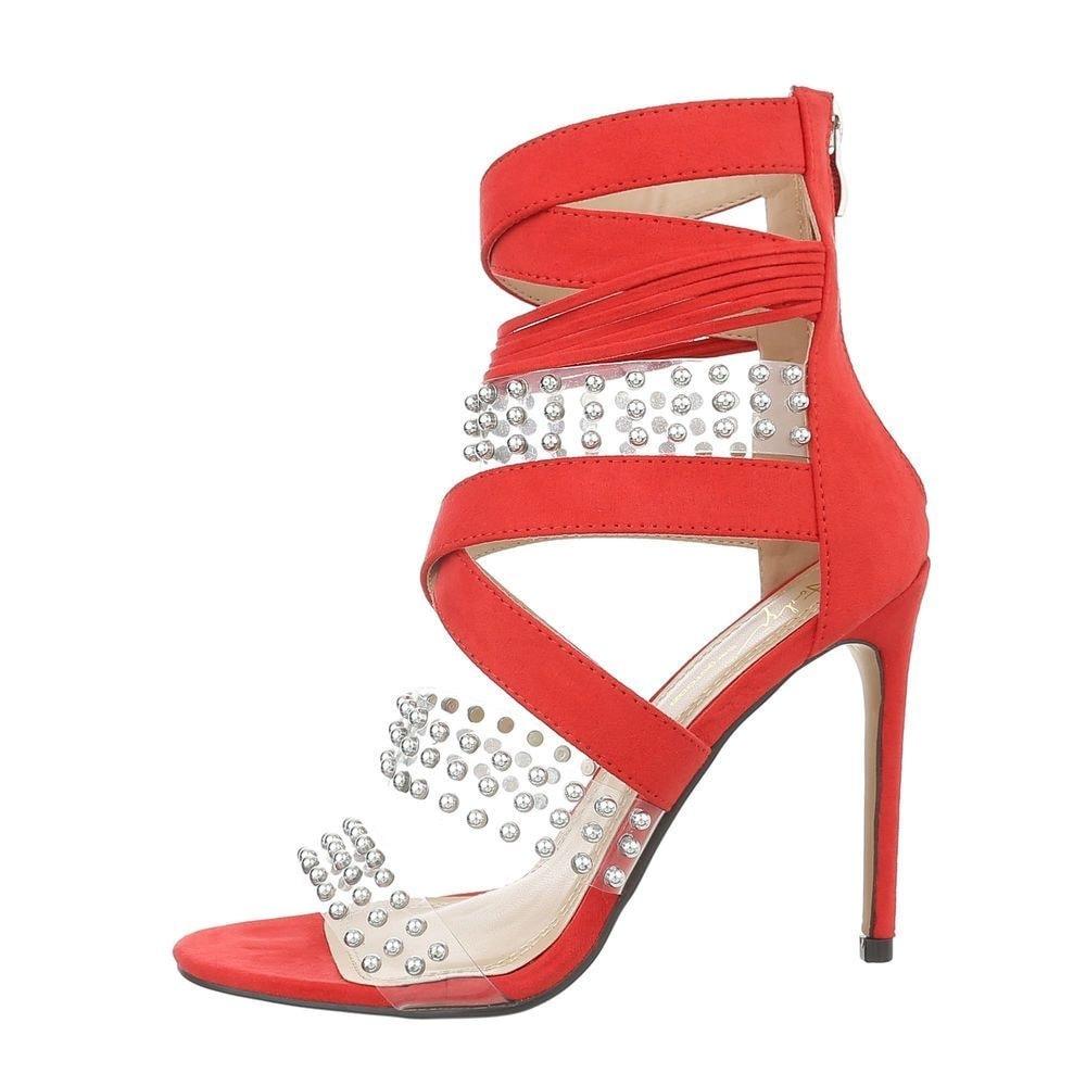 Červené sandálky - 40 EU shd-osa1031re
