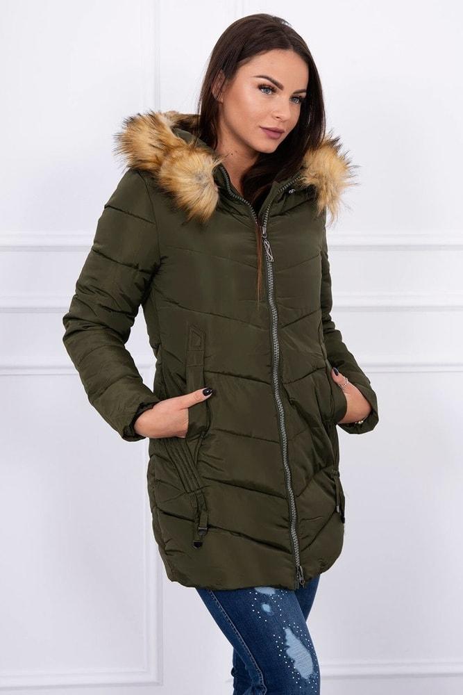 Zimná dámska bunda - M Kesi ks-bu89-01kh