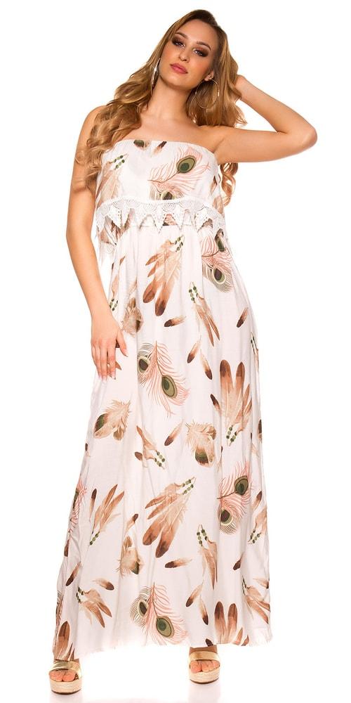Dámske letné šaty Koucla in-sat1530wh