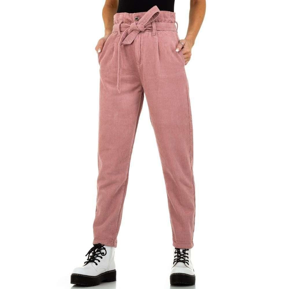 Menčestrové dámske nohavice - L/40 EU shd-ka1154spi