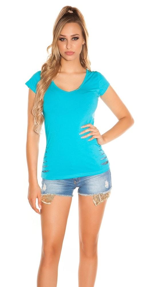 Letní dívčí triko Koucla in-tr1113tu