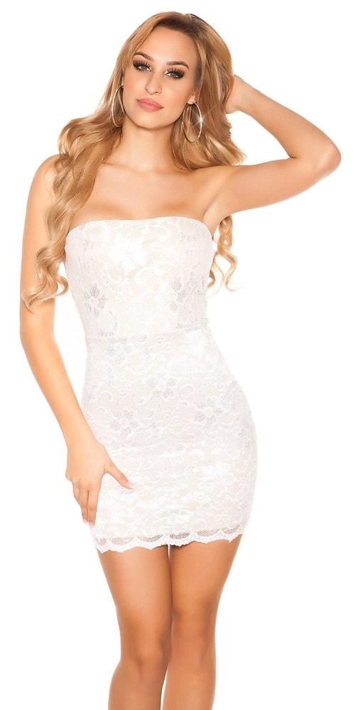 Večerné dámske mini šaty Koucla in-sat1341wh