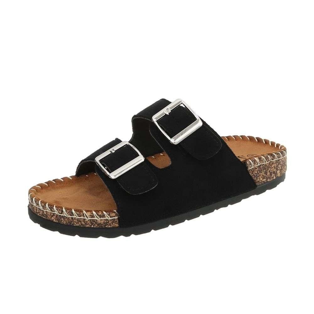 Čierne papuče EU shd-opa1011bl