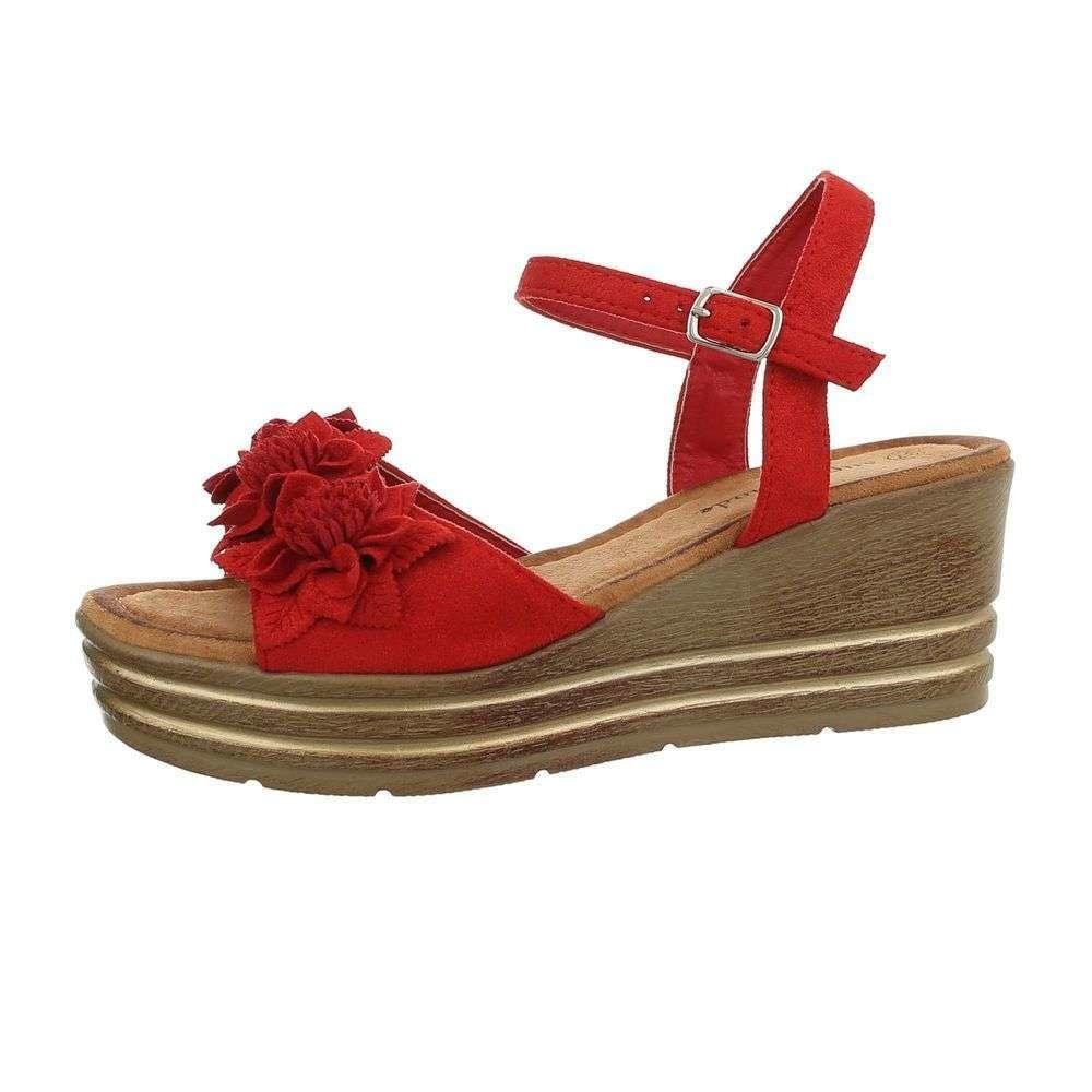 Červené letní sandálky - 39 EU shd-osa1354re