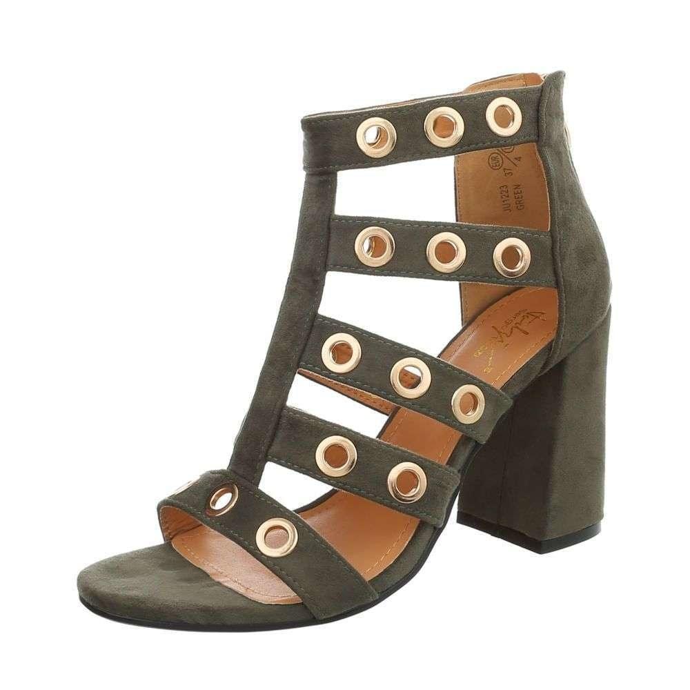 Sandálky na vysokém podpatku - 40 EU shd-osa1102kh