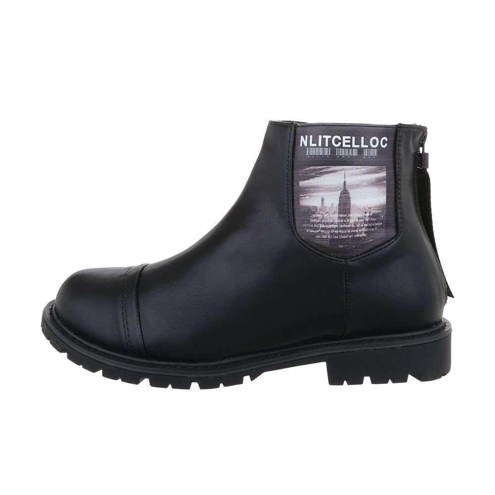 Dámská kotníková obuv EU shd-okk1210bl