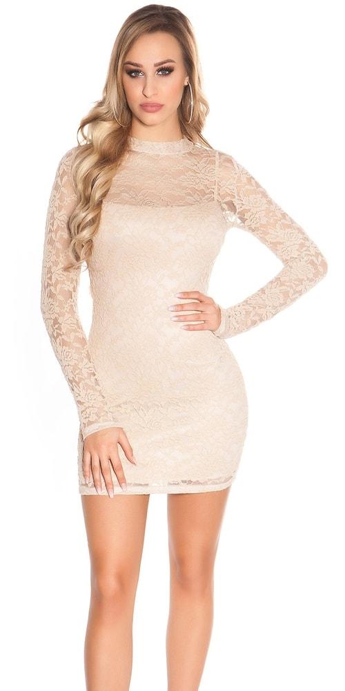 Dámske čipkované mini šaty Koucla in-sat1734be