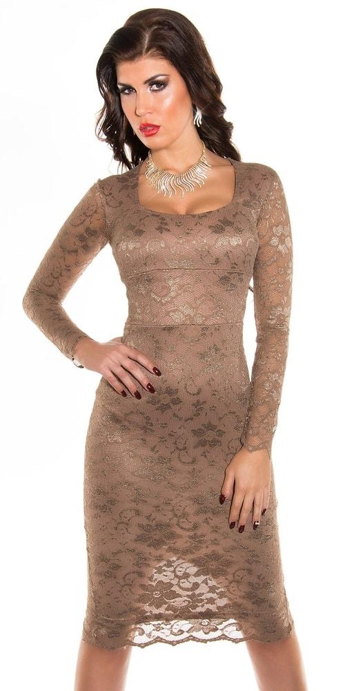 Čipkované dámske šaty - 42 Koucla in-sat1004ca