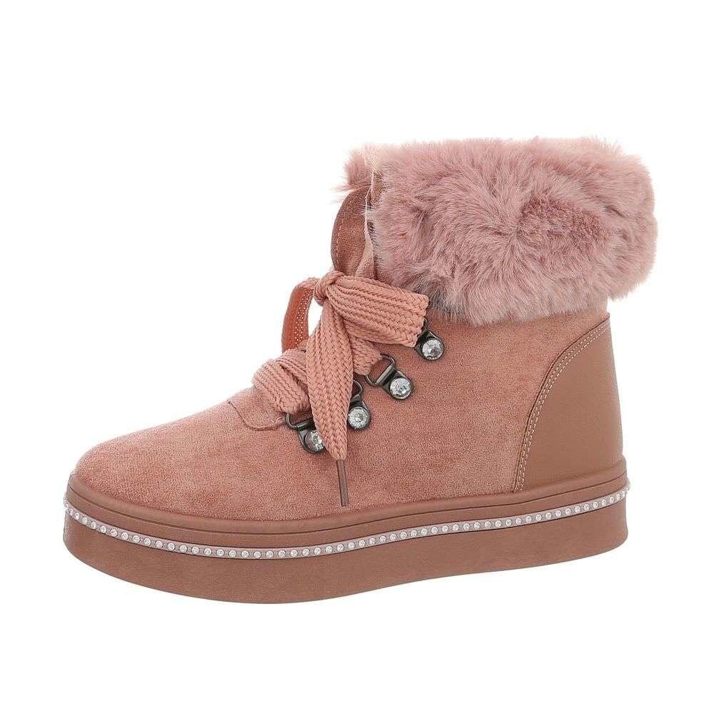 Dámske nízke zimné topánky EU shd-okk1056pi