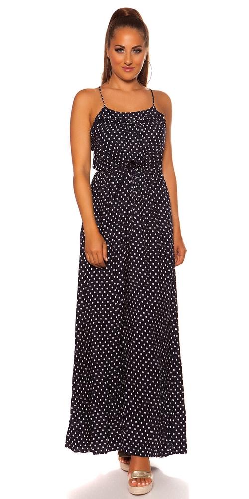 Dlouhé letní šaty - M/L Koucla in-sat2065tm