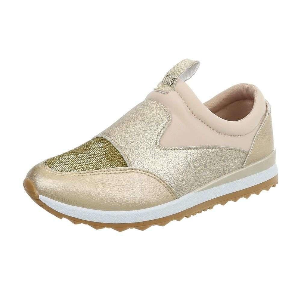 Dámské sneakers zlaté - 36 EU shd-osn1107go
