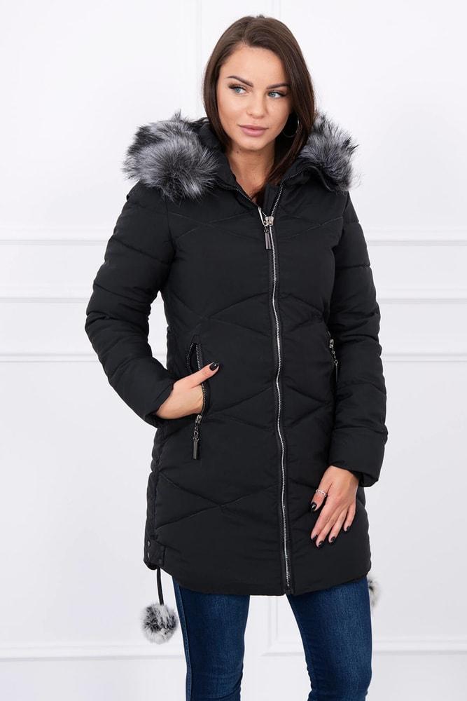 Dámska zimná bunda - XL Kesi ks-bu8005bl