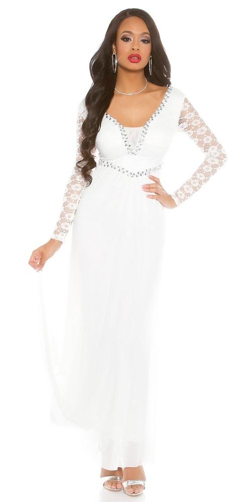 Dámske večerné šaty - L Koucla in-sat1485wh