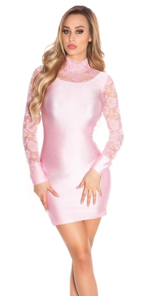 Party mini šaty s čipkou Koucla in-sat1777spi