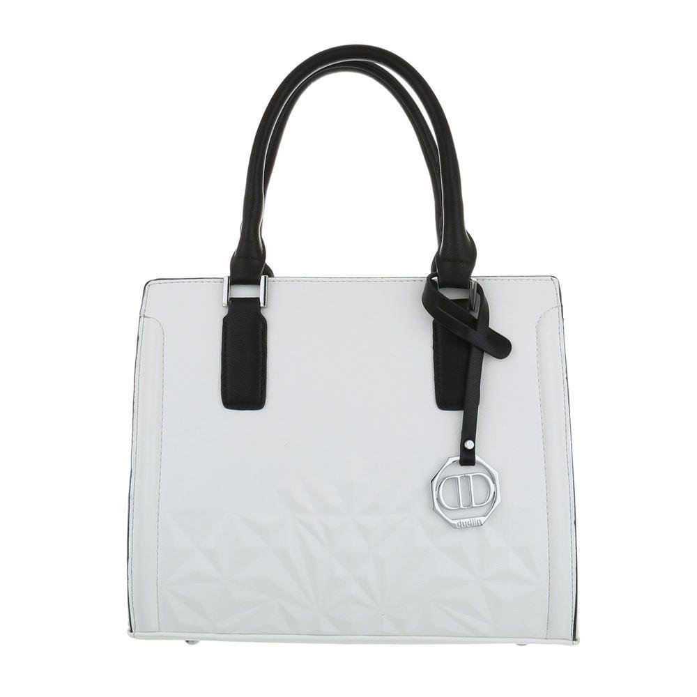 Bílá dámská kabelka EU sh-ta1027wh