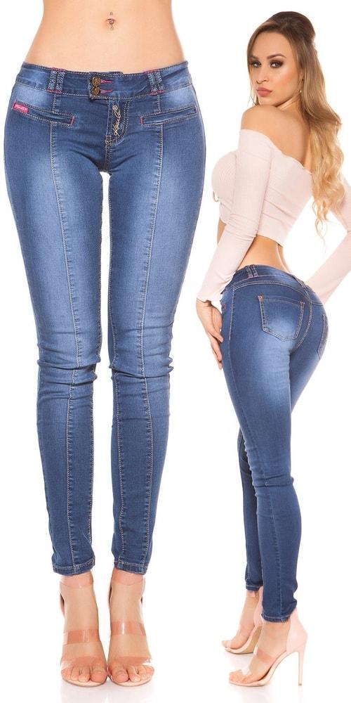 Dámske džínsy - 42 Koucla in-ri1483