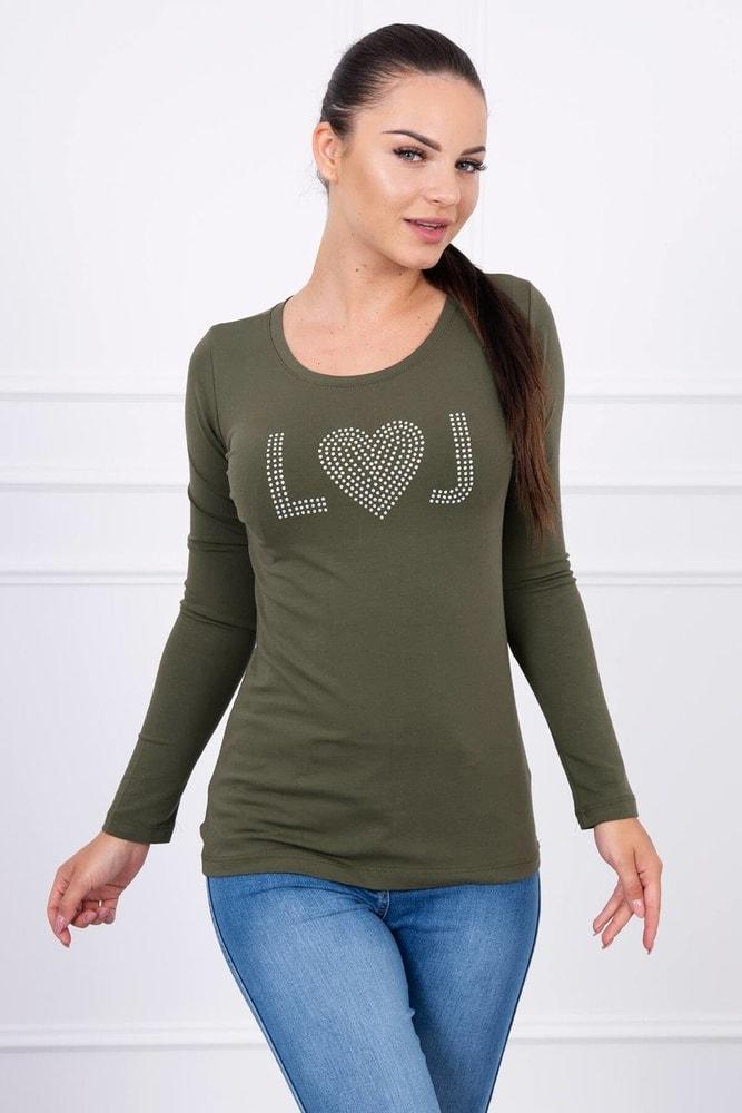 Tričko s dlhým rukávom Kesi ks-tr60026kh