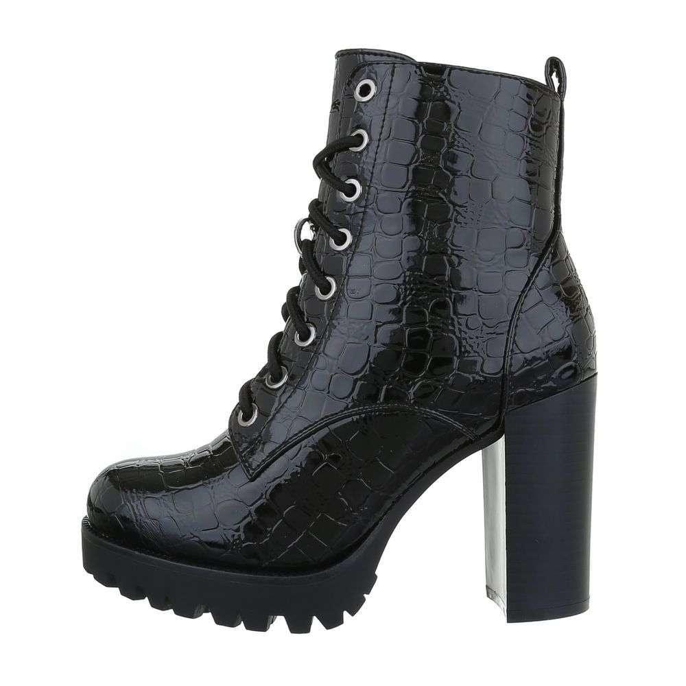 Dámske elegantné členkové topánky - 37 EU shd-okk1186bl