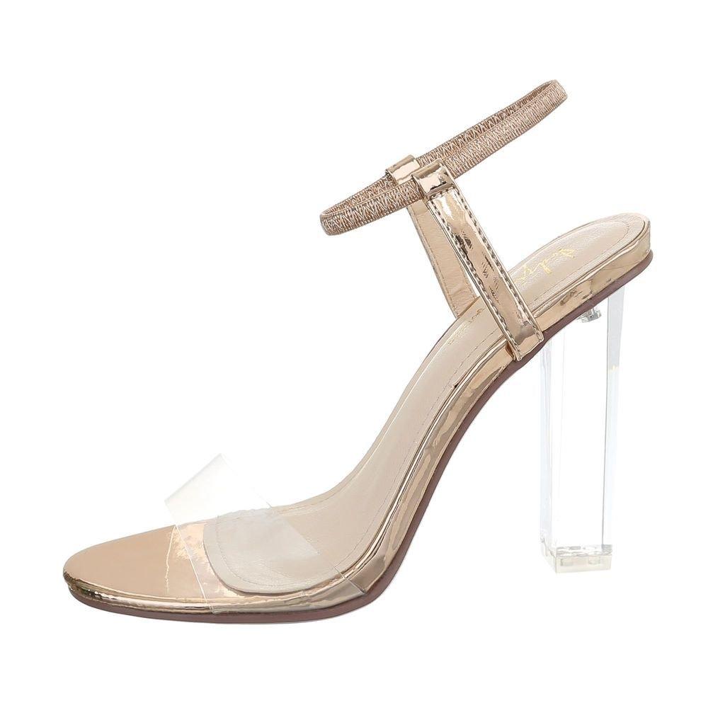 Dámske sandále na podpätku - 38 EU shd-osa1241pi