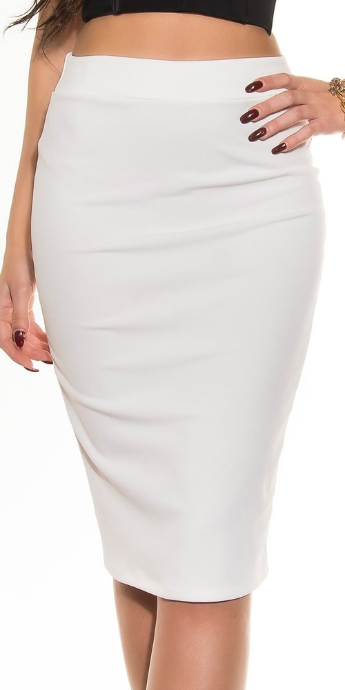 Dámska sukňa - M Koucla in-su1158wh