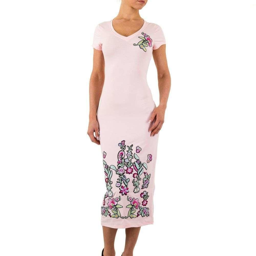 Šaty s výšivkou - M EU shd-sat1054pi