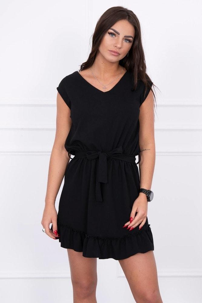 Čierné dámske šaty Kesi ks-sa8969bl