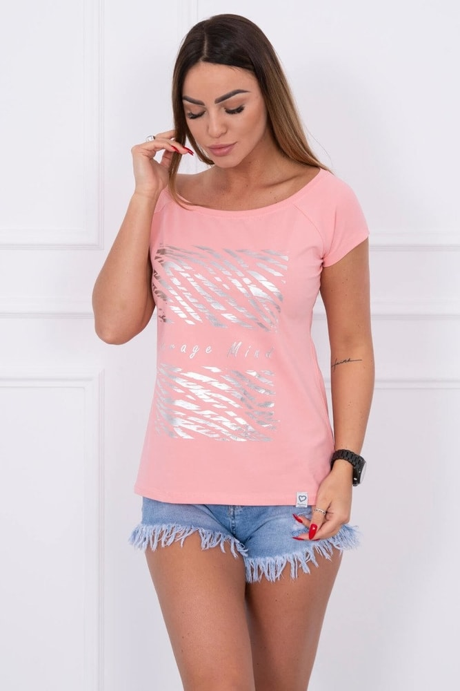 Dámske tričká s potlačou Kesi ks-tr61128spi