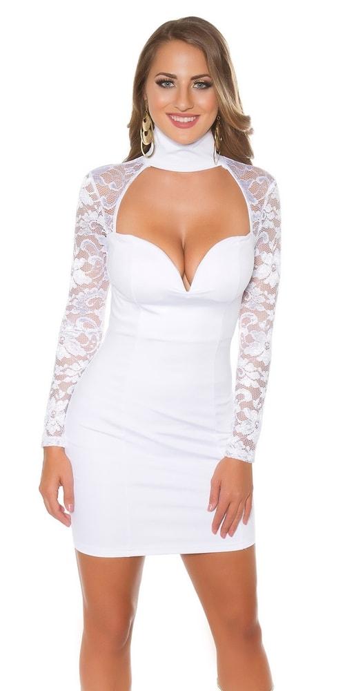 Spoločenské dámske šaty Koucla in-sat1681wh