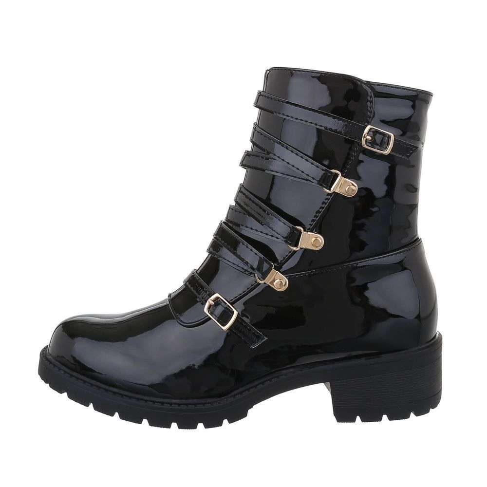 Čierne členkové topánky - 40 EU shd-okk1359lb