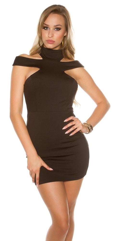 Dámske mini šaty - M Koucla in-sat1667bl