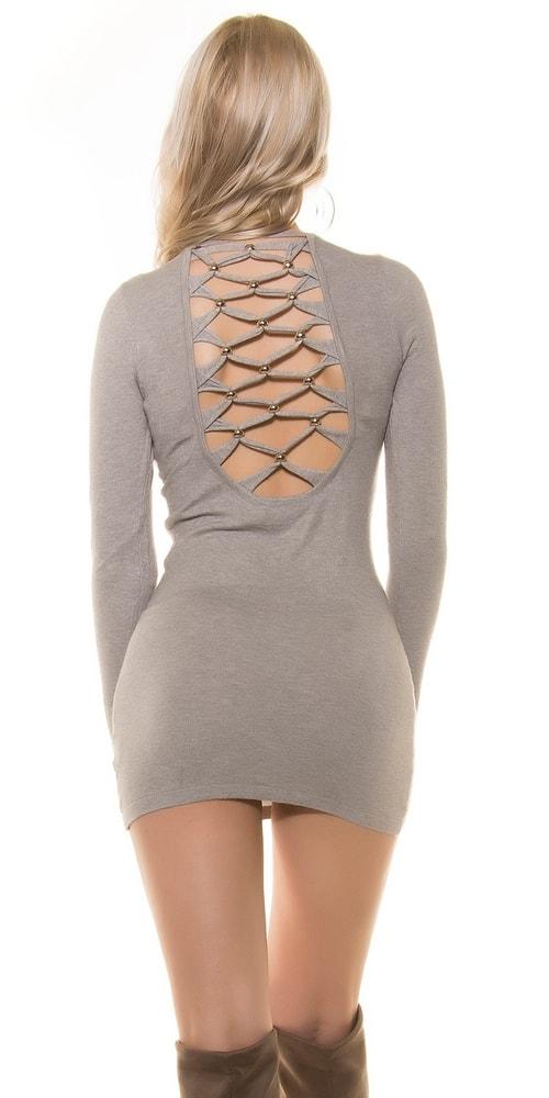 Úpletové mini šaty - Uni Koucla in-sat1250gr