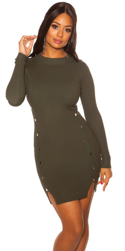 Dámské úpletové šaty - S/M Koucla in-sat2082ze