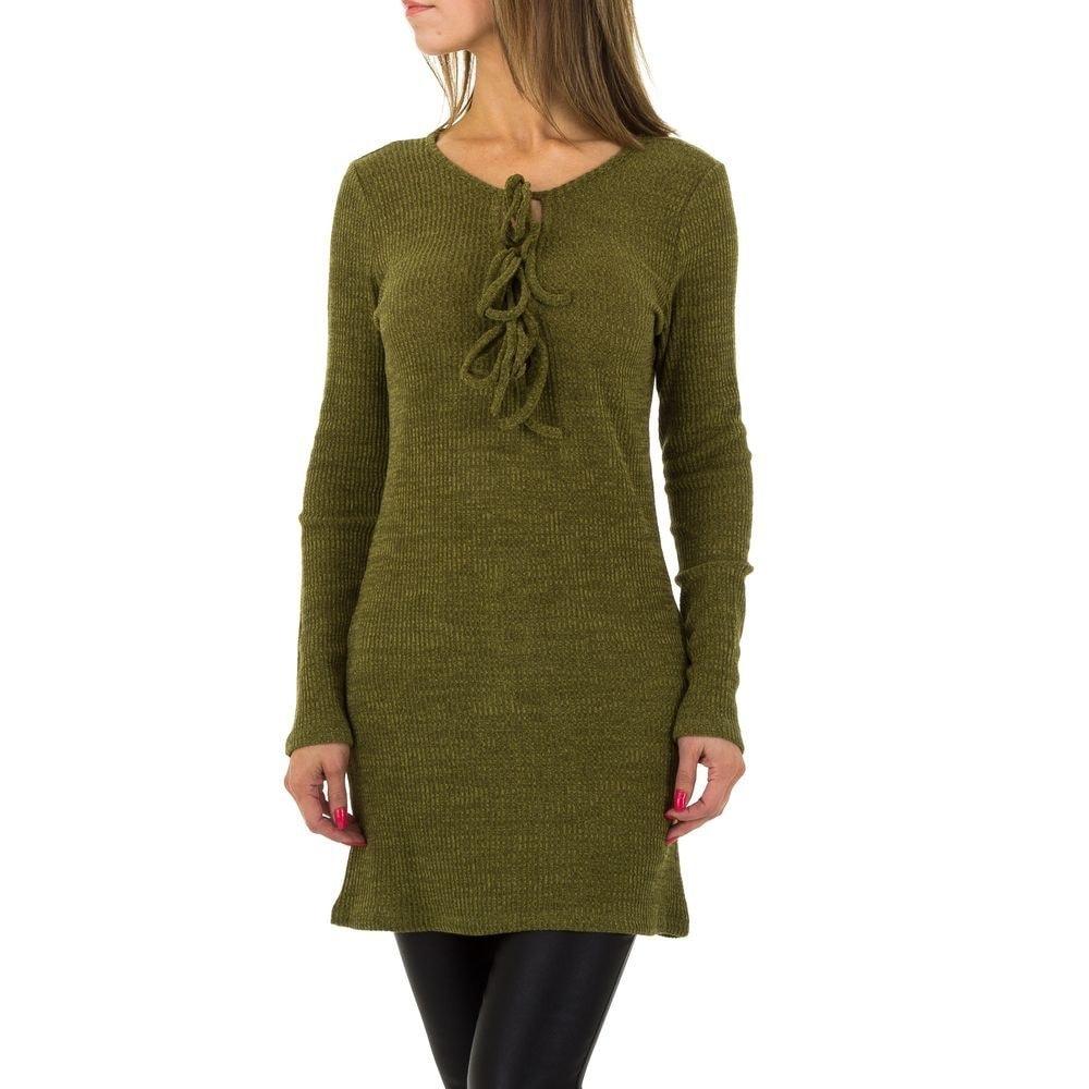 Pletené dámské šaty - M/L EU shd-sat1069kh
