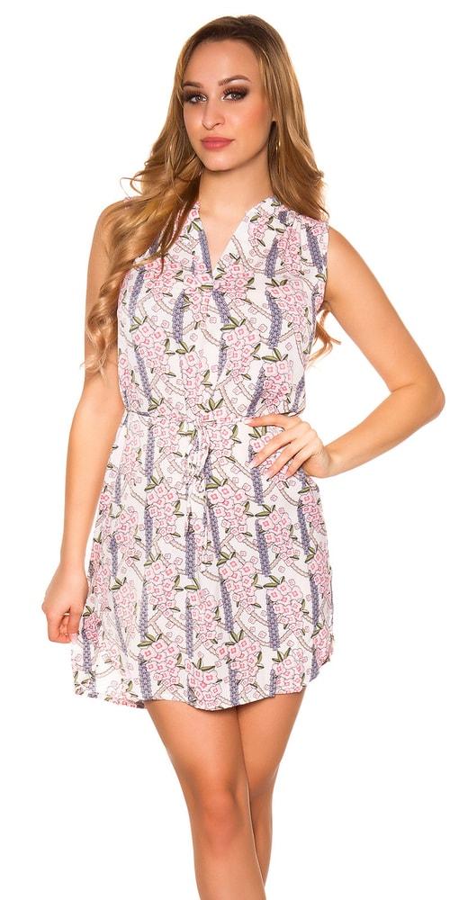 Dámske mini šaty Koucla in-sat1684wh