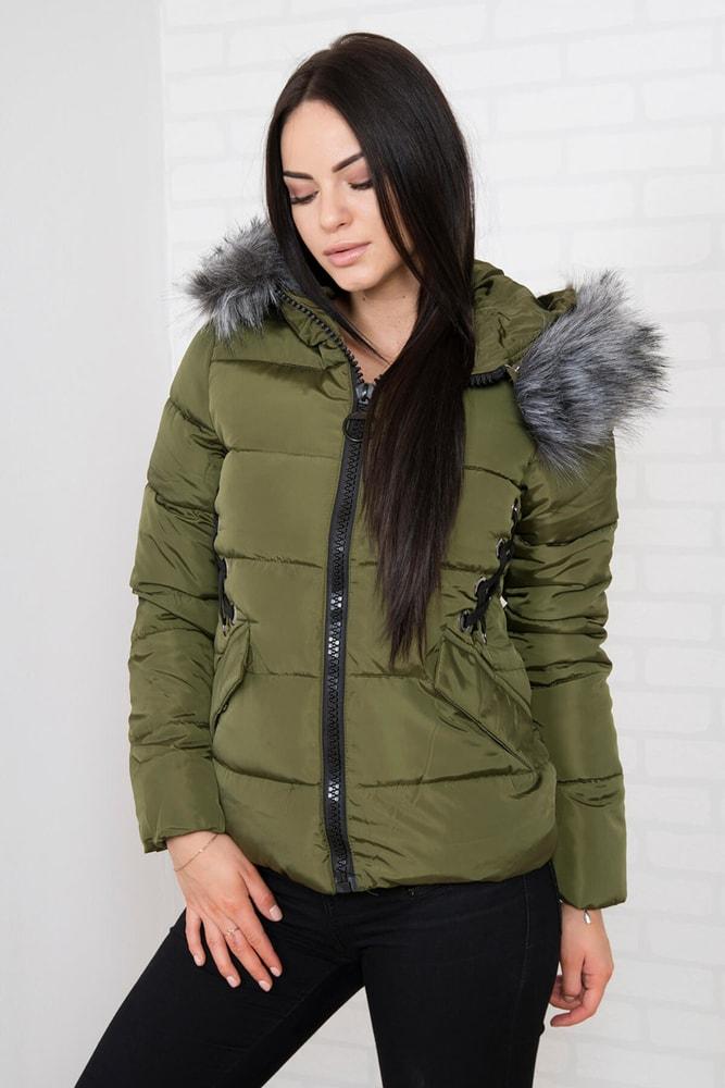 Krátka zimná bunda - XL Kesi ks-bu2662kh-k