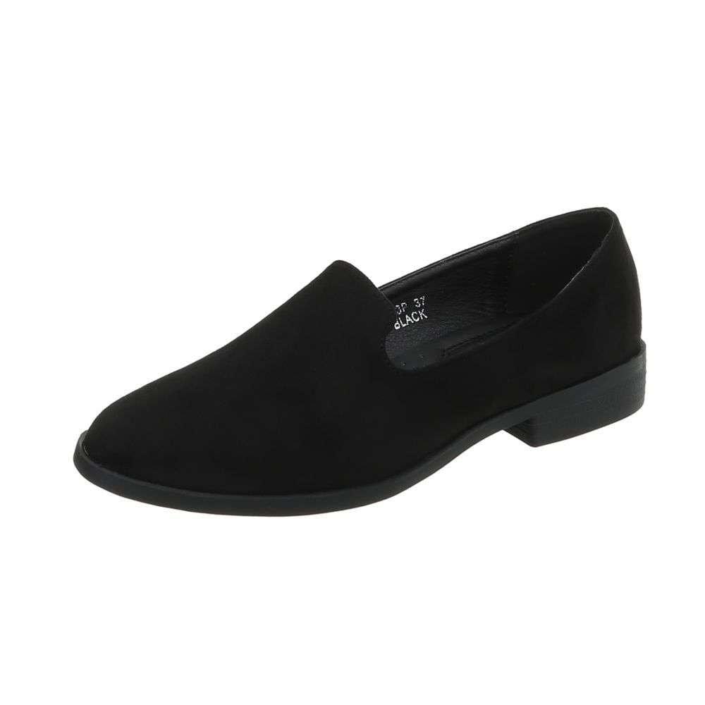 Čierne dámske topánky shd-omo1054bl
