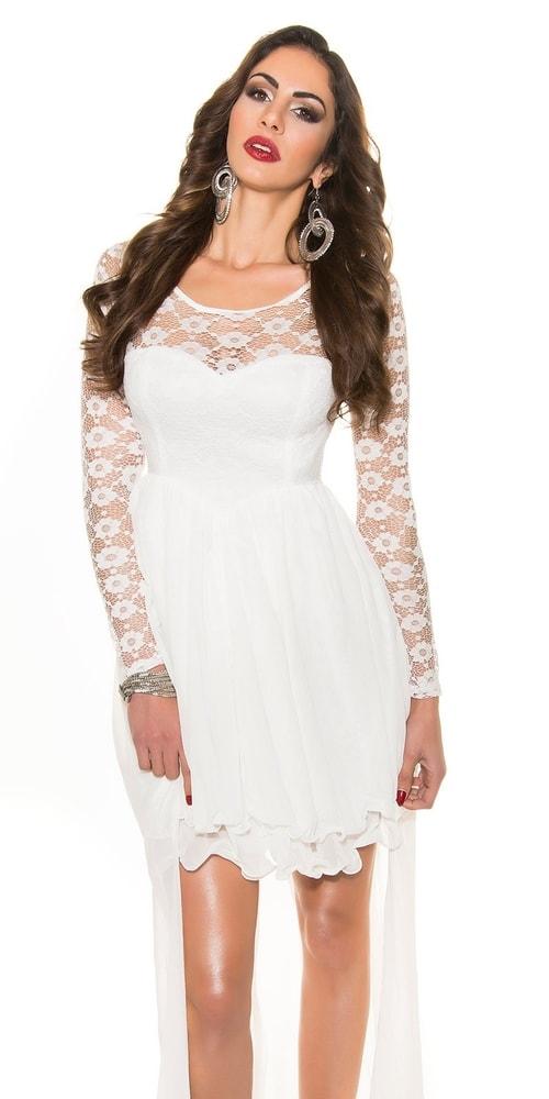Dámske spoločenské šaty - XL Koucla in-sat1089wh