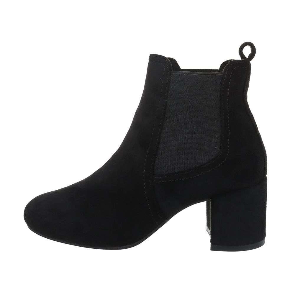 Kotníková obuv na podpatku - 39 EU shd-okk1218bl