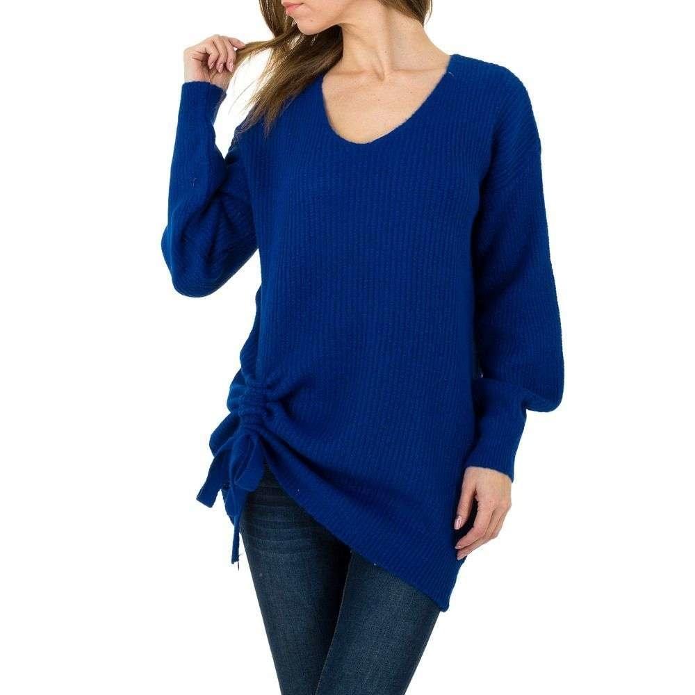 Dámsky sveter modrý EU shd-sv1083mo