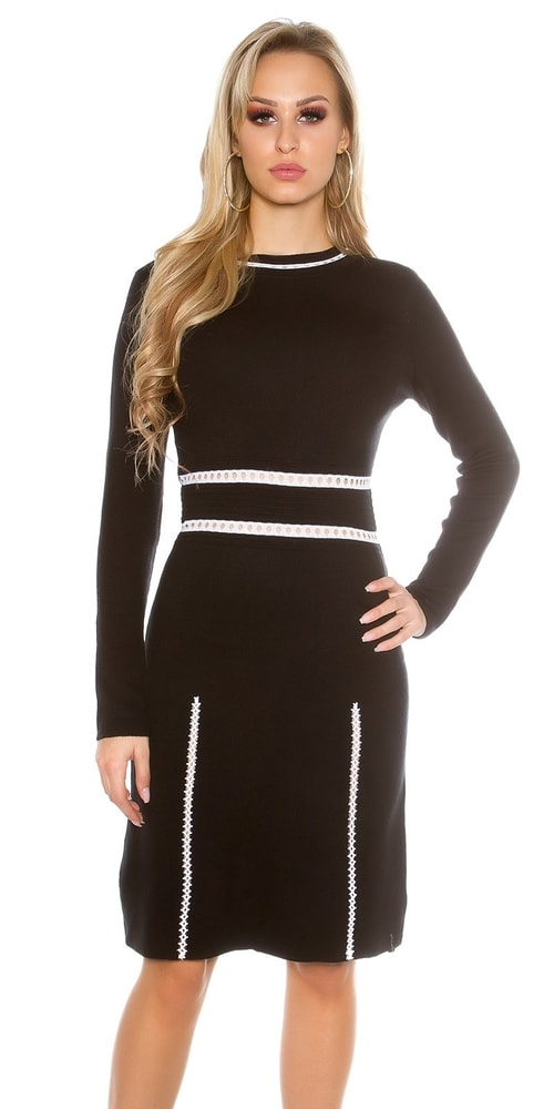 Trendy dámske šaty Koucla in-sat1410bl