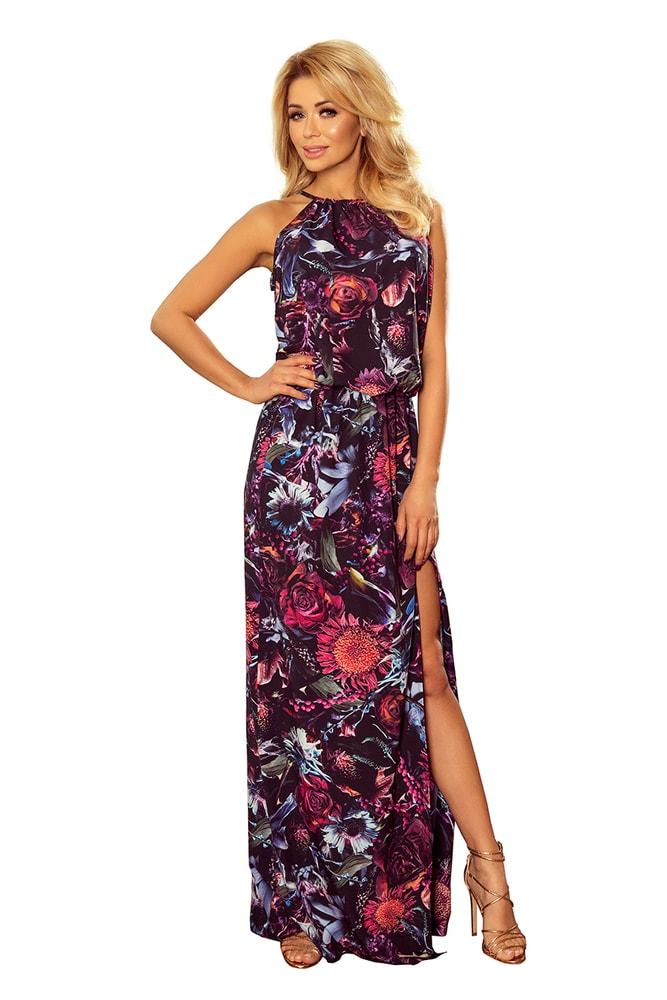Dlouhé letní šaty Numoco nm-sat191-1