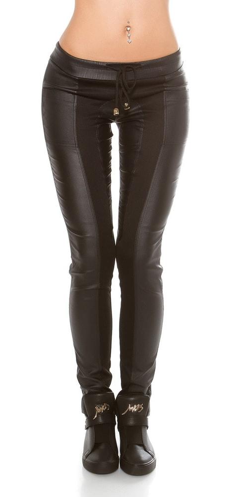 Dámske čierne nohavice - XL Koucla in-ka1047bl