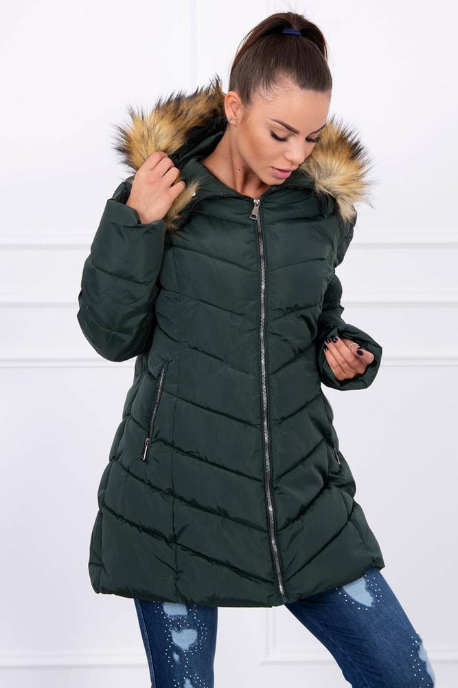 Zimná bunda s kapucňou - 5XL Kesi ks-bu1807ze